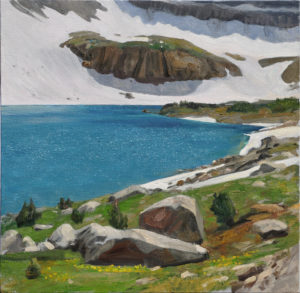 Snowdrift lake