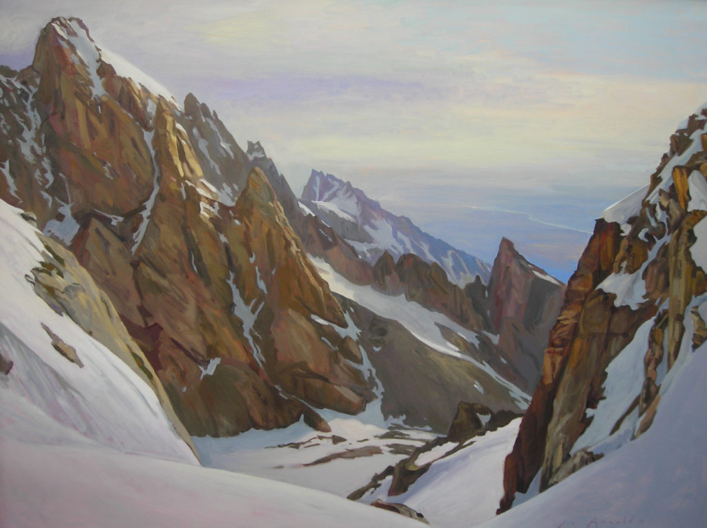 Above Middle Teton Glacier