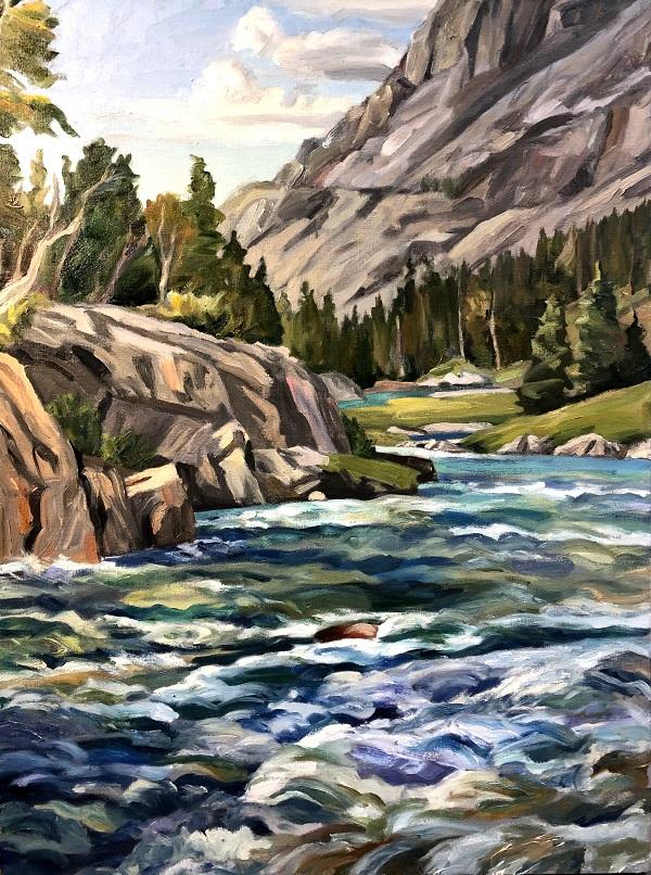 Dinwoody Creek Wind River Range
